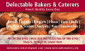 Delectable Bakers Business card.